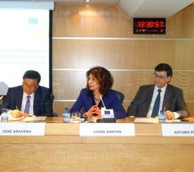 José Aravena, Luisa Santos, Arturo Pinedo,