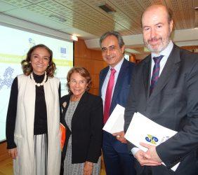 Carmen Vela, Luisa Peña, Luis Fernando Álvarez-Gascón, Félix García Lausín