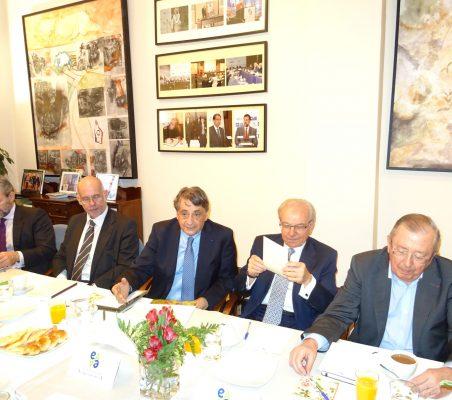 Rafael García del Poyo, Juan Miguel Márquez, Jean Fribourg, Almerino Furlan y Philippe Dillmann