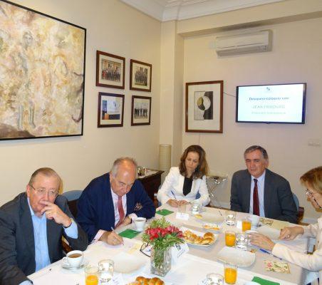 Philippe Dillmann, Miguel Vergara, Patricia Alfayate, Justo Varona y Sara Bieger