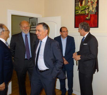 Ángel Durández, Felipe Fernández Atela, Justo Varona, Carlos Ávila y Claudio Vallejo