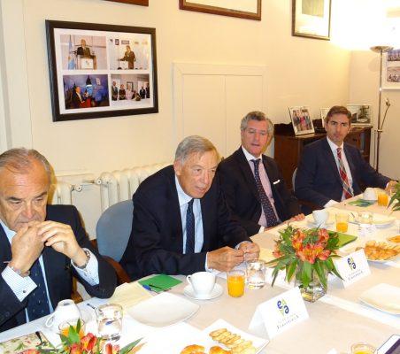 Juan Mato, Carsten Moser, Claudio Vallejo, y Roberto Hombrados