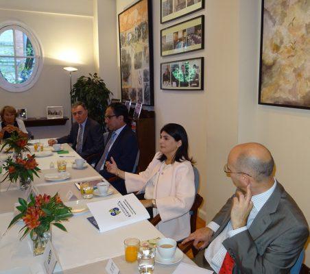 Luisa Peña, Justo Varona, Reynaldo Portugal, Ximena Zavala y Fernando González