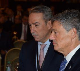Sergio Aranda, Gas Natural  y Francisco Cabrera, Ministro de Producción