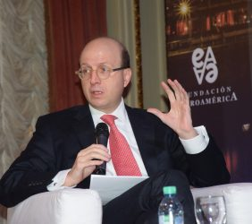 Andrés Rugeles, Director representante en Argentina de CAF, Banco de Desarrollo de América Latina