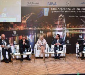 Sesión  sobre Europa y Argentina, una colaboración estratégica de comercio y de inversión