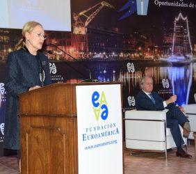 Benita Ferrero-Waldner, Presidenta de la Fundación Euroamérica