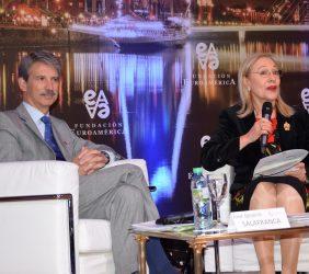 José Ignacio Salafranca y Benita Ferrero-Waldner