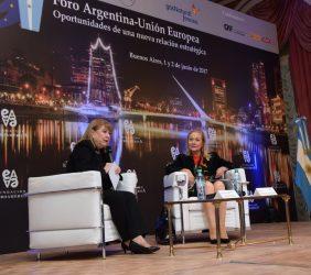 Ministra Susana Malcorra y Benita Ferrero-Waldner