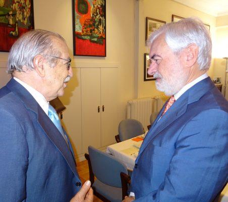 Francisco Ferrero y Darío Villanueva