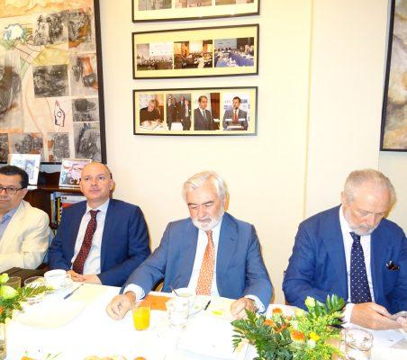 Enrique Vargas, Juan Llobell, Darío Villanueva, y  José Luis López-Schümmer