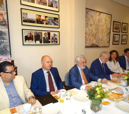 Enrique Vargas, Juan Llobell, Darío Villanueva, José Luis López-Schümmer, Isaura Portillo y Martín Ortega Carcelén