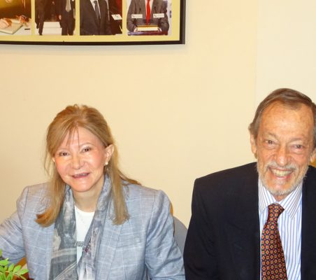 Rosa Townsend y Emilio Cassinello