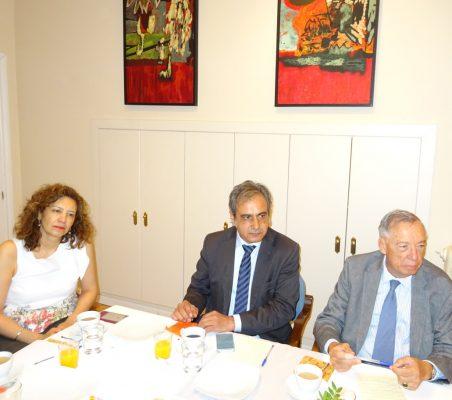 Isaura Portillo, Luis Fernando Álvarez-Gascón y Carsten Moser