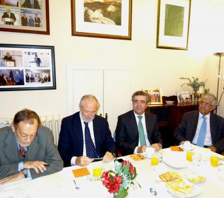 Emilio Cassinello, José Luis López-Schümmer, Carlos López y Fernando Labrada
