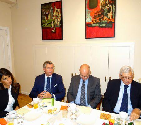Luciana Binaghi, Claudio Vallejo, Juan Miguel Márquez y Rafael Puyol