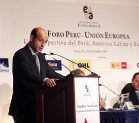 Pedro Larrea, Director General de Endesa Internacional, España