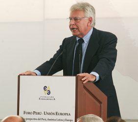 Felipe González, ex Presidente del Gobierno de España