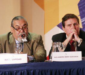 Raúl Vargas, Director RPP (Radio), y Alejandro Miró Quesada, El Comercio