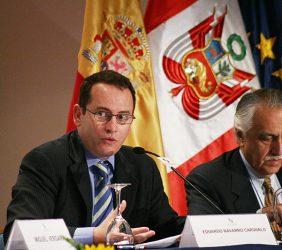 Eduardo Navarro Carvalho, Director de Estrategia y Regulación, Telefónica Latinoamérica, y Gonzalo Prialé, Presidente de AFIN