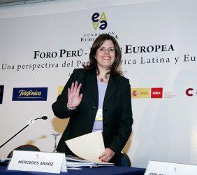 Mercedes Araoz, Ministra de Comercio Exterior y Turismo del Perú