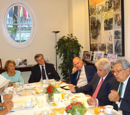 Luisa Peña, Claudio Vallejo, Juan Llobell, Gonzalo Babé y William Cárdenas