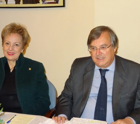 Roberta Lajous, Embajadora de México, y Antonio Pérez-Hernández, Director General para Iberoamérica y el Caribe