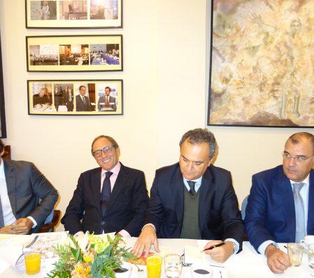 Tiago Vidal, Paulo Portas, Francisco Ribero de Menezes y José António Silva e Sousa