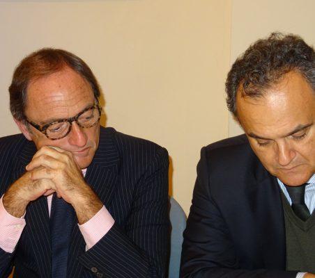 Paulo Portas, Viceprimer Ministro de Portugal y Ministro de Exteriores (2011-2015), y Francisco Ribero de Menezes, Embajador de Portugal en España