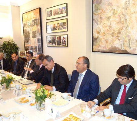Bernardo da Cunha, Pablo Bello, Tiago Vidal, Paulo Portas, Francisco Ribero de Menezes, José António Silva e Sousa  y Rafael Hoyuela
