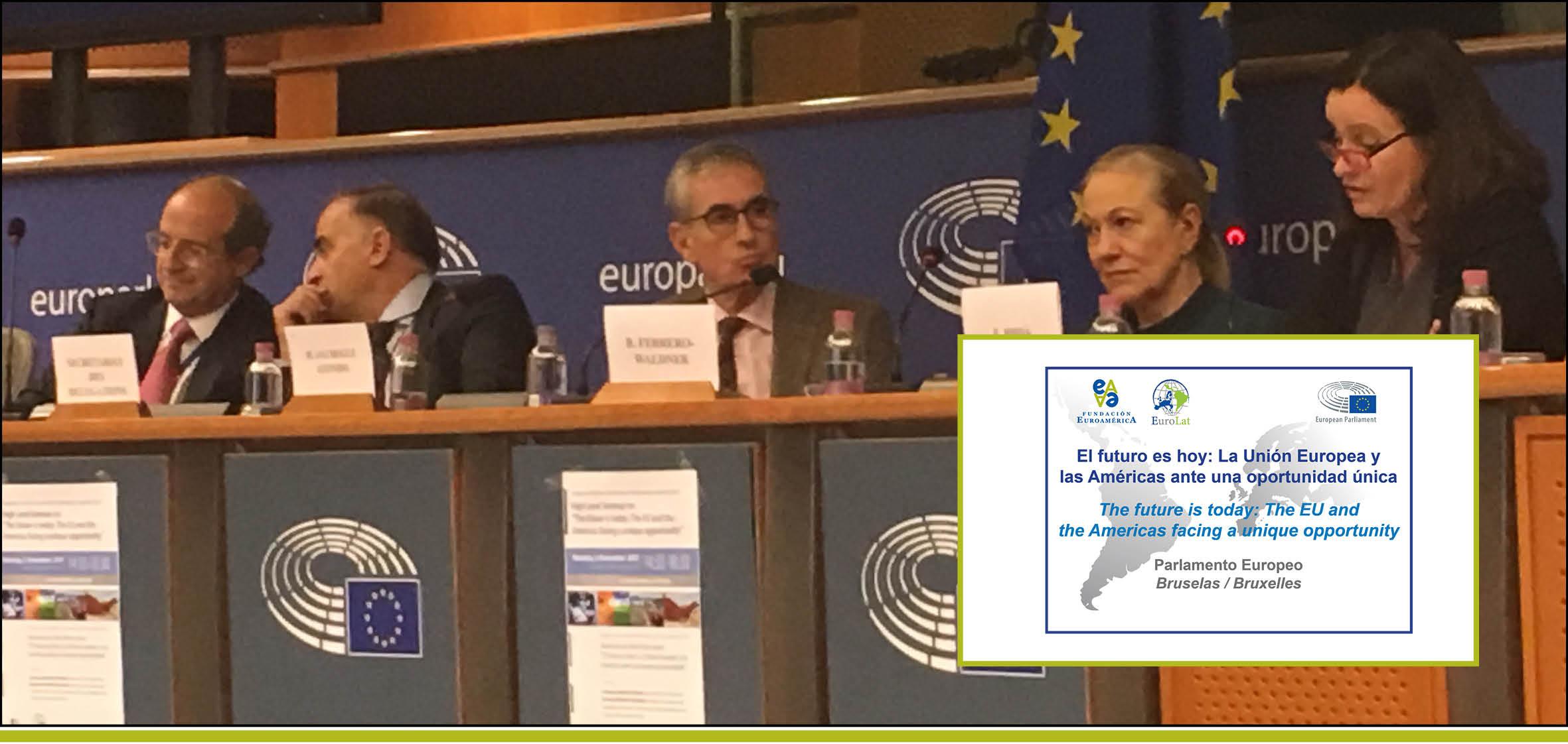 I SEMINARIO DE ALTO NIVEL EN EL PARLAMENTO EUROPEO