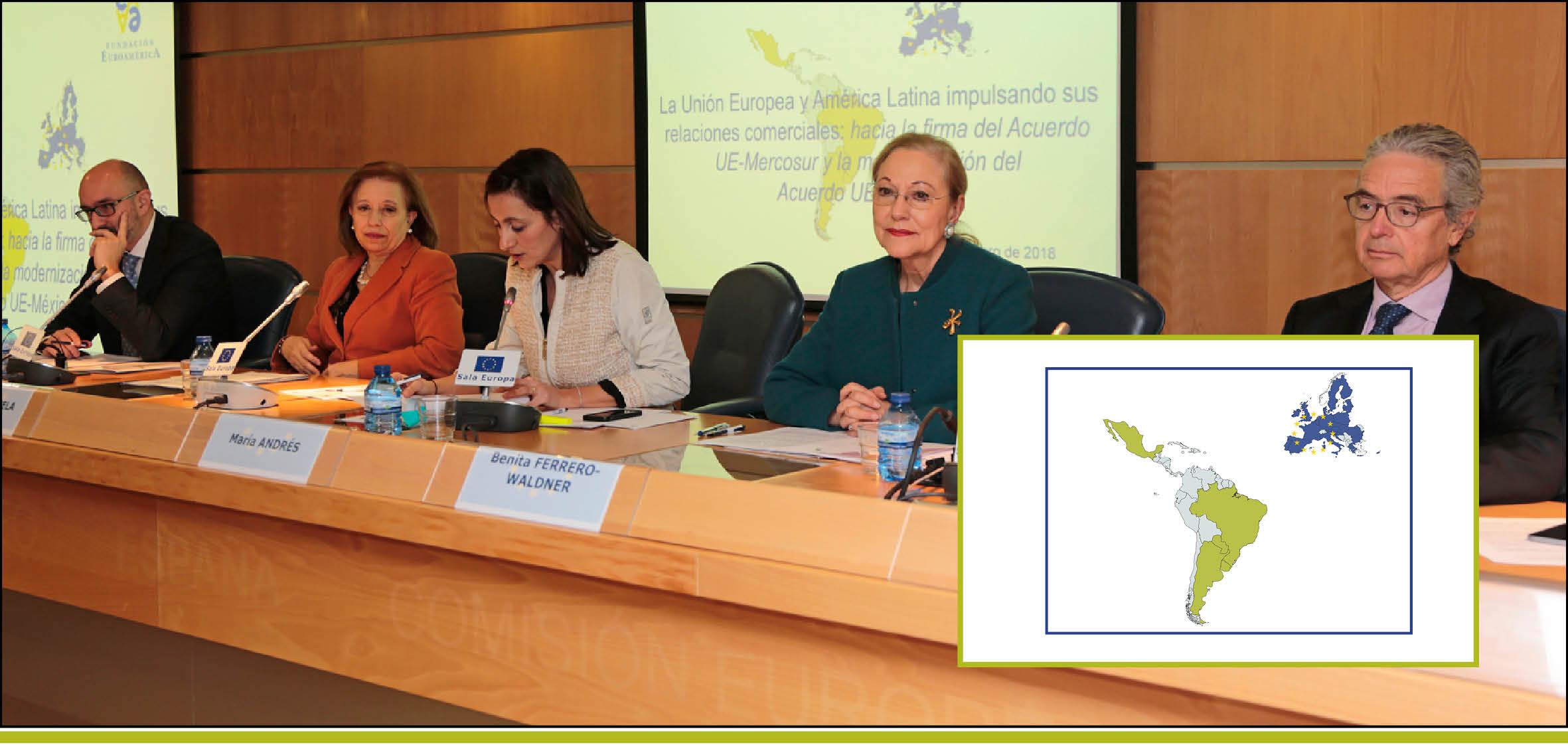 La Unión Europea y América Latina impulsando sus relaciones comerciales