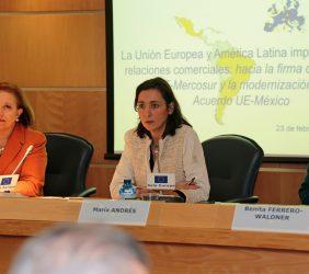 Marisa Poncela, María Andrés y Benita Ferrero-Waldner
