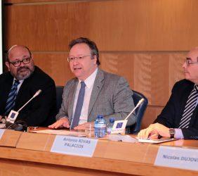 Ignacio Rodríguez Burgos; Francisco Assis, eurodiputado, y Antonio Rivas Palacios