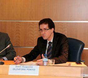 José Ignacio Salafranca, eurodiputado, y Davi Augusto Oliveira Pinto
