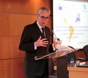 Ramón Jáuregui, presidente de EuroLat