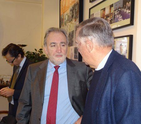 José María Beneyto y Carsten Moser