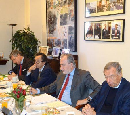 Claudio Vallejo, David Tuesta, José María Beneyto y Carsten Moser
