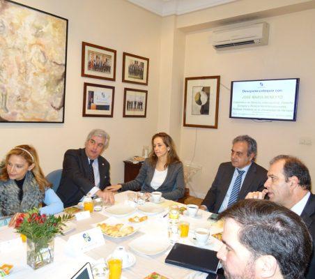 Anabella Machuca, Gonzalo Babé, Patricia Alfayate, Luis Fernando Álvarez-Gascón y Marco Aguayo