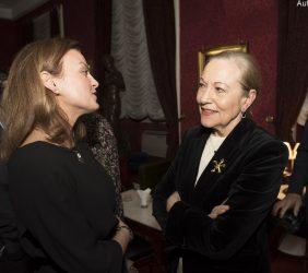 Renata Dutra y Benita Ferrero-Waldner