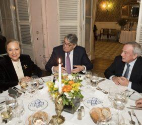 Benita Ferrero-Waldner, Antonio Martins da Cruz y Carlos Solchaga