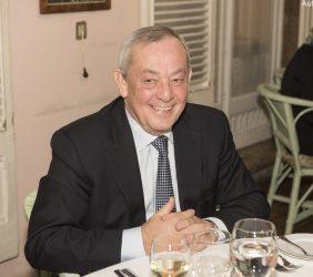 Carlos Solchaga, ex Ministro de Economía y Hacienda, y de Industria del Gobierno de España