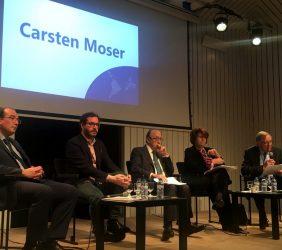 Intervención de Carsten Moser, Vicepresidente de la Fundación Euroamérica.
