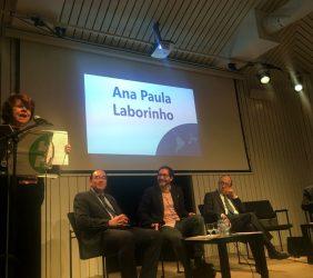 Ana Paula Laborinho, OEI [en atril].
