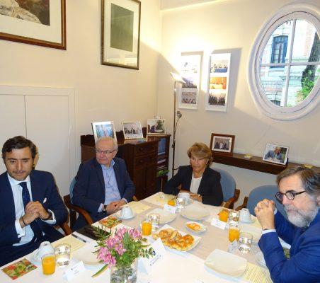 Almerino Furlan, Luisa Peña y Miguel López-Quesada