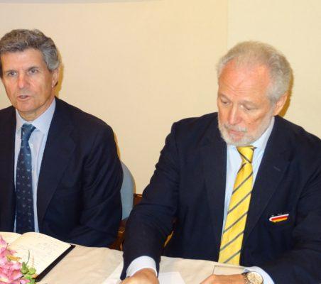 Francisco J. Riberas y José Luis López-Schümmer
