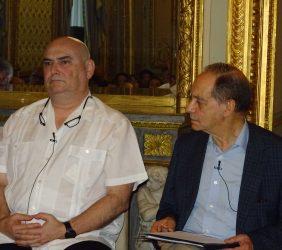 Antonio Saura y Fernando Lara