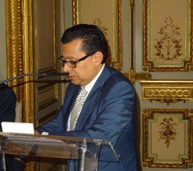 Intervención de Enrique Vargas, Coordinador del Espacio Cultural Iberoamericano de la SEGIB