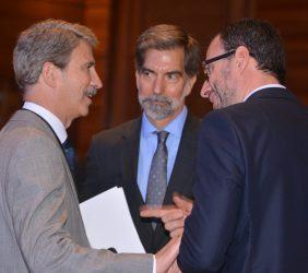 Eurodiputado José Ignacio Salafranca, Embajador Ernesto de Zulueta y Embajador Diego Mellado