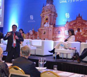 Intervención de Carlos Ugaz, Director Ejecutivo del Proyecto Especial Autoridad Autónoma del Sistema Eléctrico de Transporte Masivo de Lima y Callao